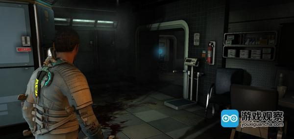 《死亡空间2》,血迹