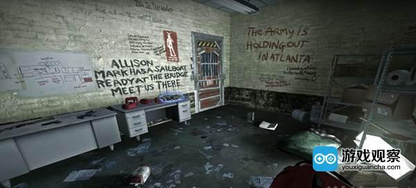 《求生之路》墙上的线索