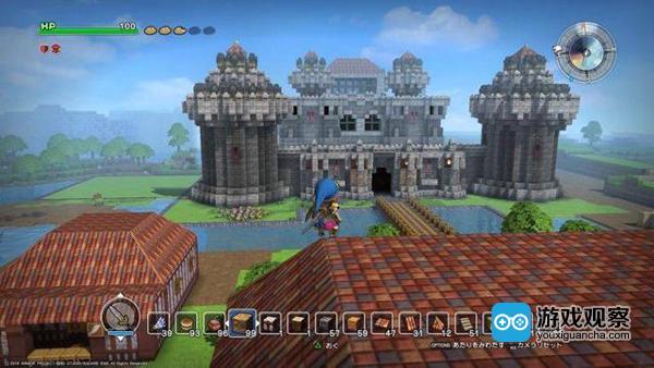 沙盒游戏《勇者斗恶龙:建造者》