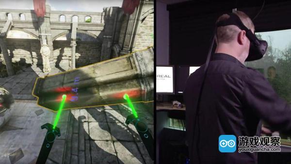 UE4游戏引擎新模式:可以边创作边测试VR游戏