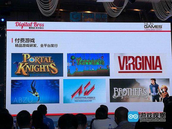 方块游戏与意大利发行商505games达成了合作