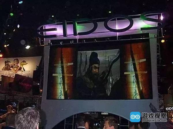 E3展台上的《傲世三国》