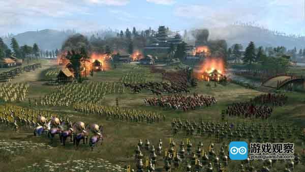 全面战争系列对于战争细节的描绘非常优秀