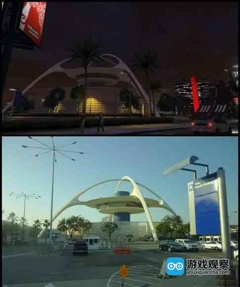 """GTA5构建了一个足以以假乱真的""""洛杉矶"""""""