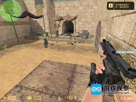 CS里恐怖分子的初始武器Glock-18手枪哪怕命中敌人头部也无法完成击杀