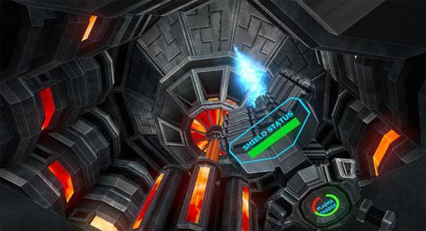 开发者创作的VR游戏《Caretaker Retribution》截图
