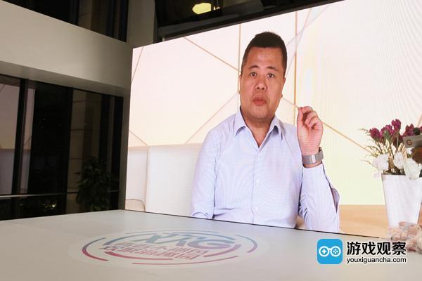 陈天桥视频连线盛大游戏