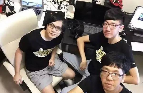 柠檬酱工作室三名成员