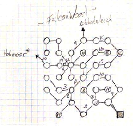 需要手绘地图的OBITUS,20年前的电子游戏森林冒险