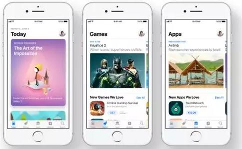 iOS11苹果商店