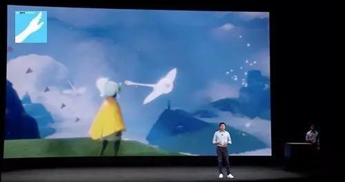 苹果发布会上陈星汉演示《Sky》,大陆将由网易代理