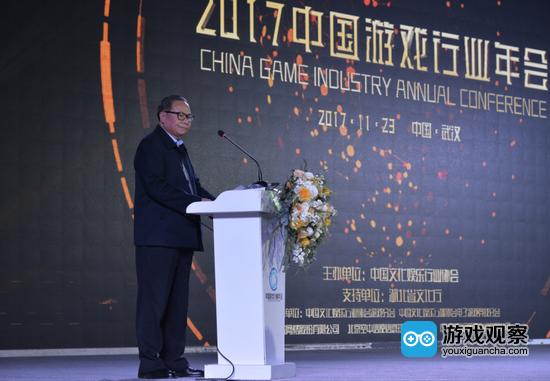 中国文化娱乐行业协会执行会长刘金华