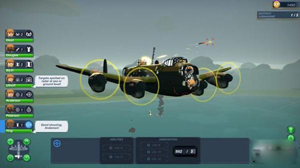 《轰炸机小队》由Runner Deck开发,Curve代理发行