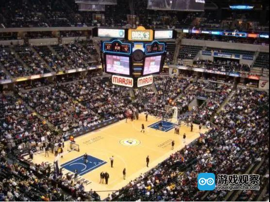 NBA比赛永远座无虚席