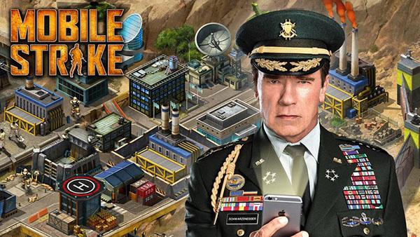Mobile Strike:雇佣阿诺·施瓦辛格(Arnold Schwarzenegger)非常昂贵