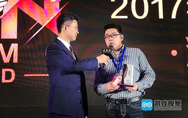 360游戏执行副总裁吴健发表感言