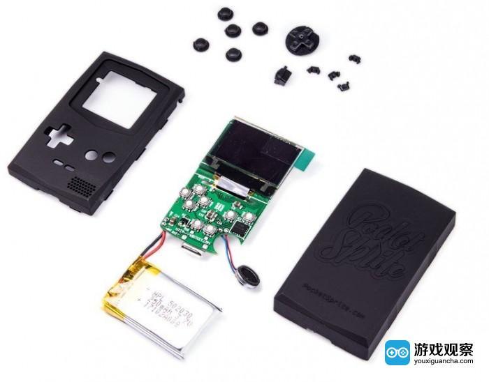 世界上最小的游戏机Pocketsprite 售价最高要199美元