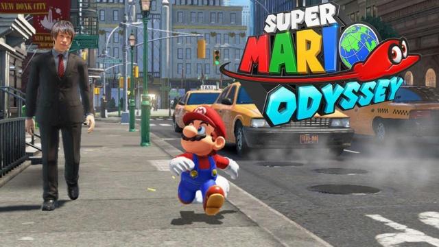 《超级马里奥:奥德赛》