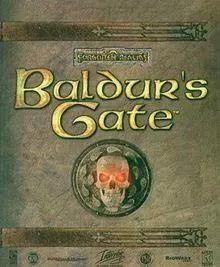 《博德之门》游戏封面