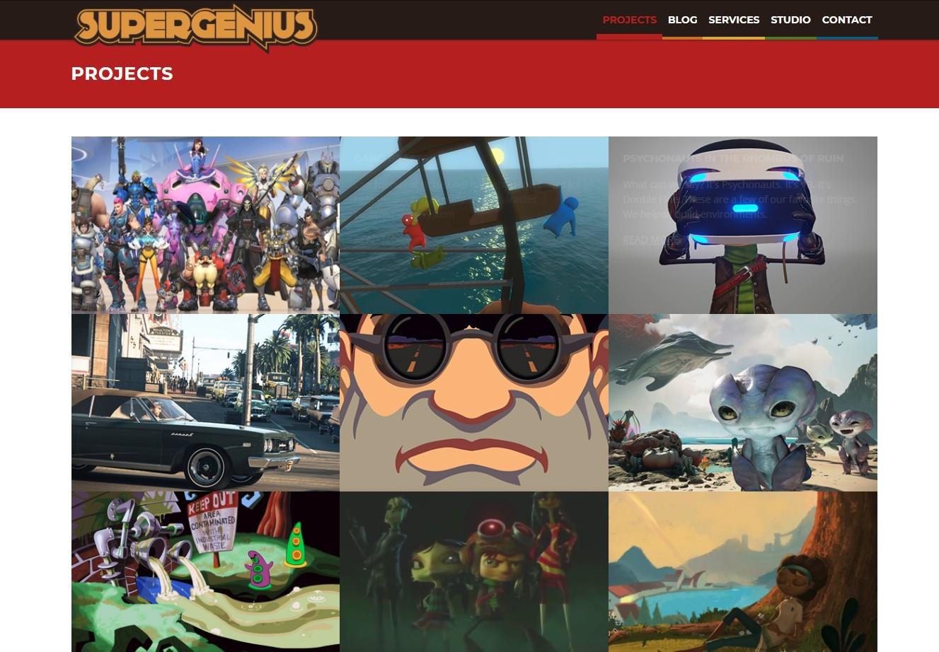 SuperGenius众多公开的项目