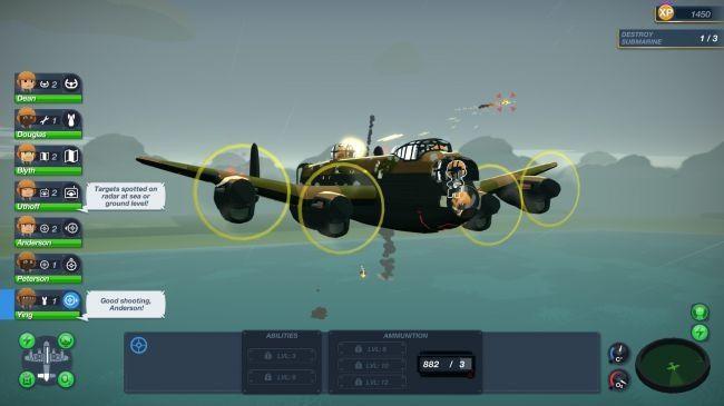 轰炸机小队