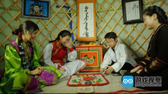 """""""开放的传统游戏数字图书馆""""在试点国蒙古国采集当地的传统游戏"""