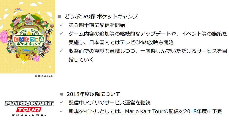 DeNA与任天堂公司合作推出的手游作品