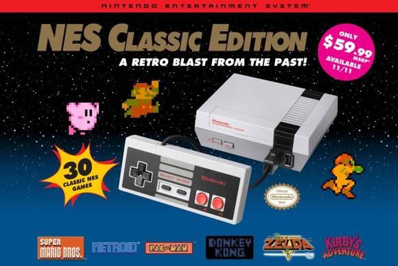 任天堂NES经典版将于6月29日在北美重新上市