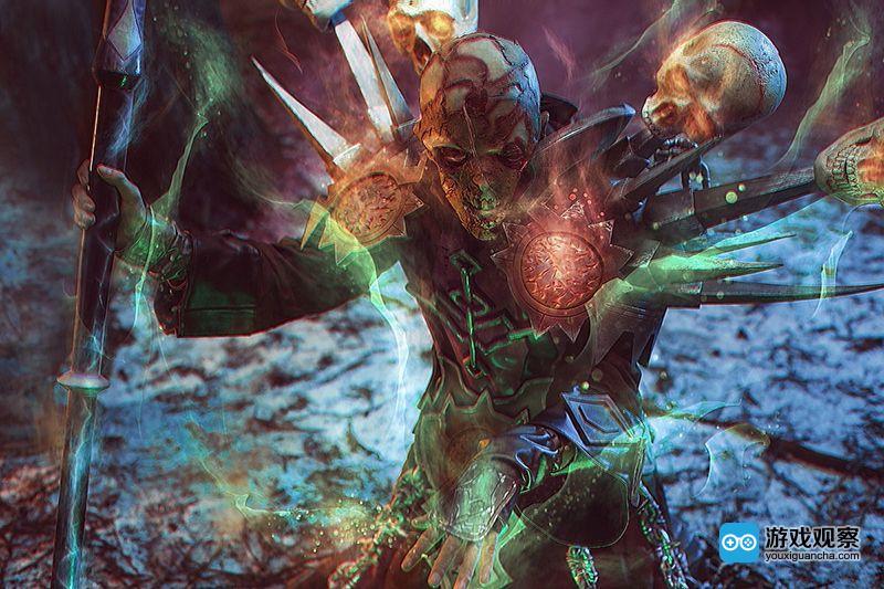 《魔兽世界》亡灵术士