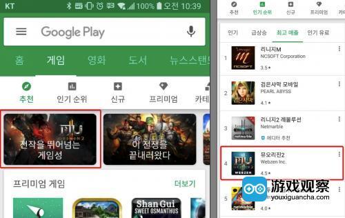 掌趣科技《奇迹觉醒》获韩国Google Play首页推荐 海外布局持续深化