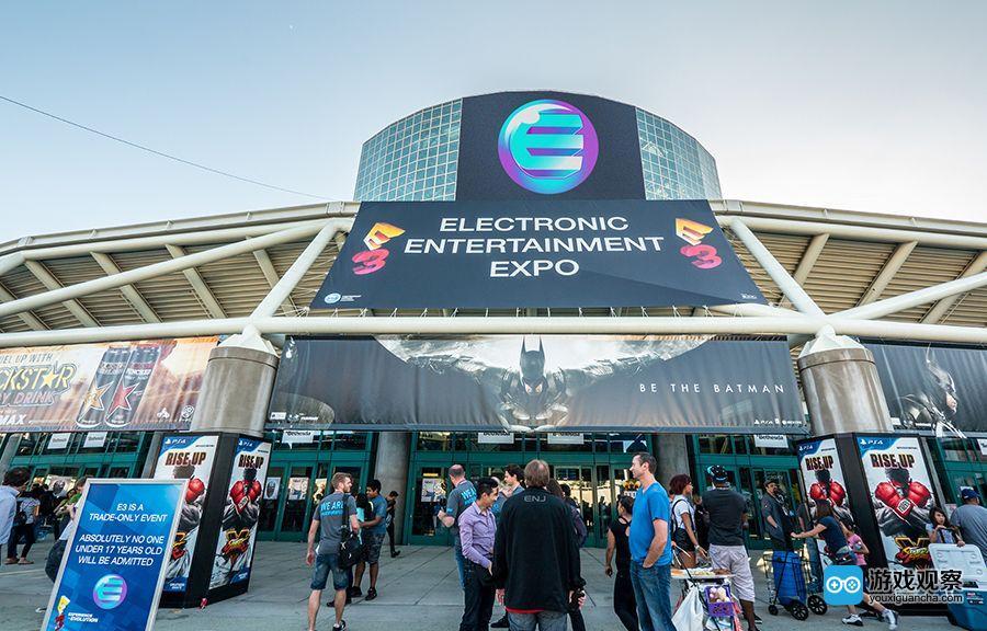 美国E3展现场