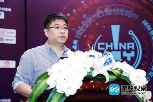 ChinaJoy电子竞技大赛合作方 盖奇电竞CEO 沈梅峰先生