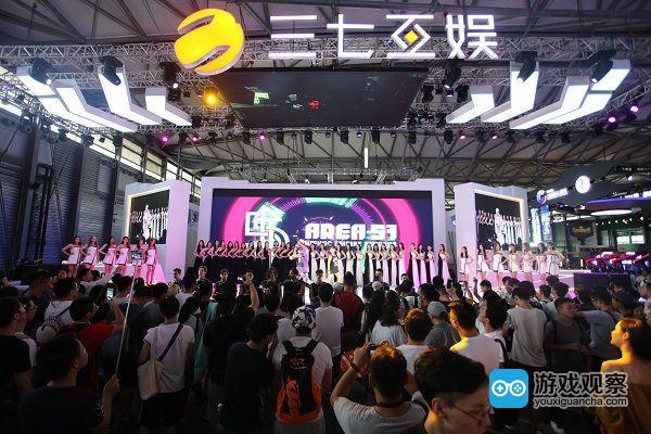 玩心嘉年华 三七互娱2018年ChinaJoy BTOC展区再次精彩亮相