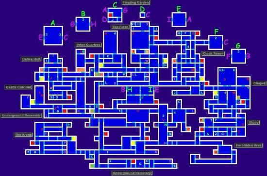 恶魔城的多周目全隐藏地点,长期以来已经是系列游戏一个必不可少的要素