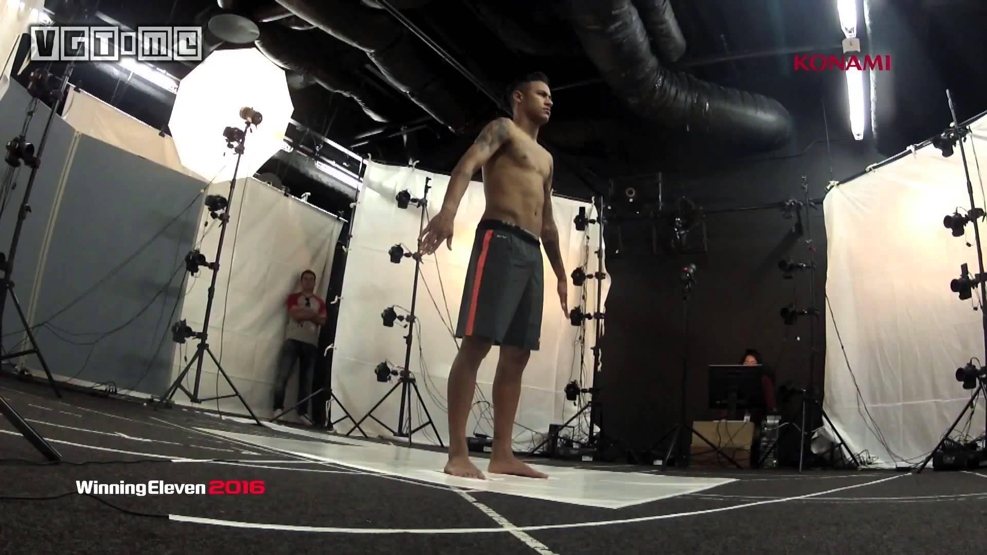 《实况足球2016》的球员扫描
