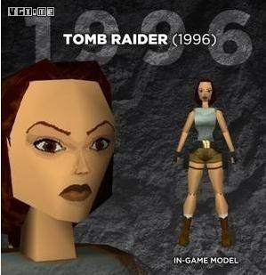 早期的3D游戏角色很有现代艺术的神韵