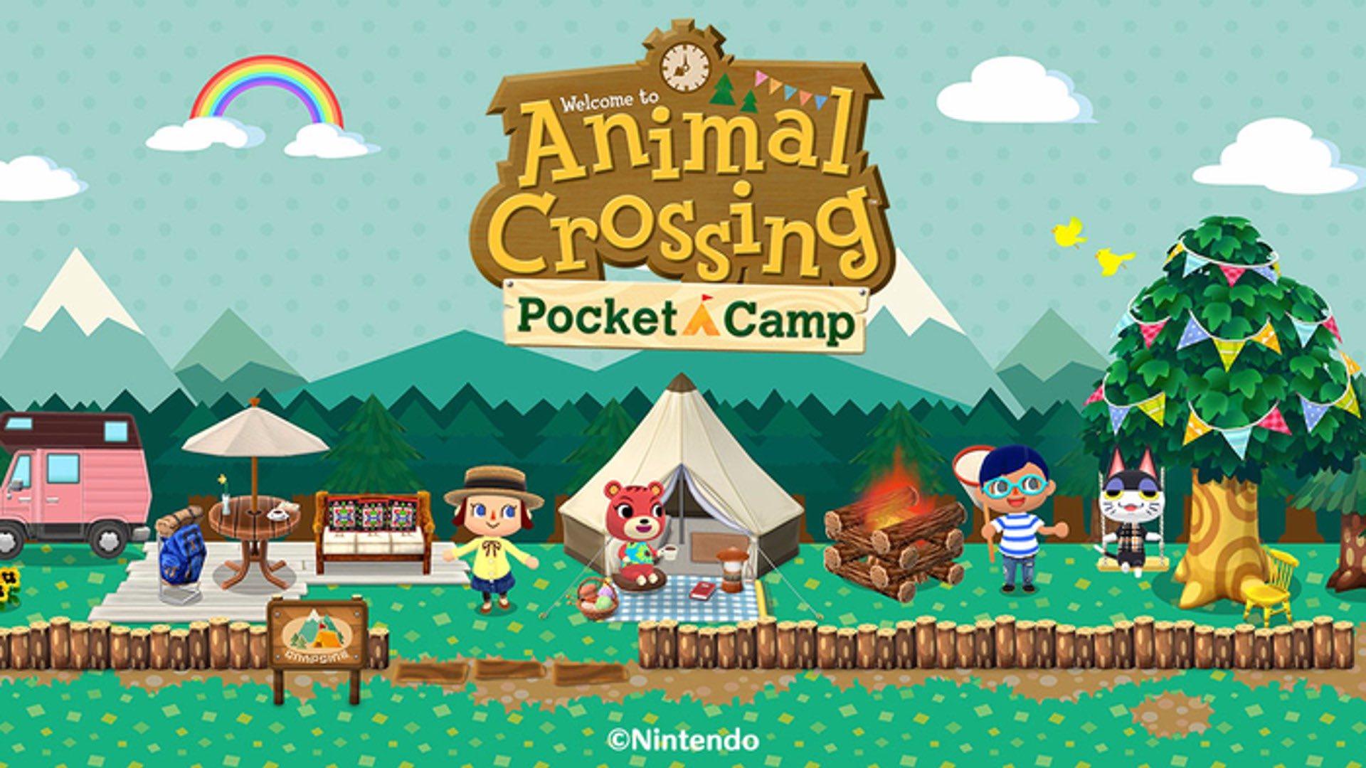 动物之森 口袋营地