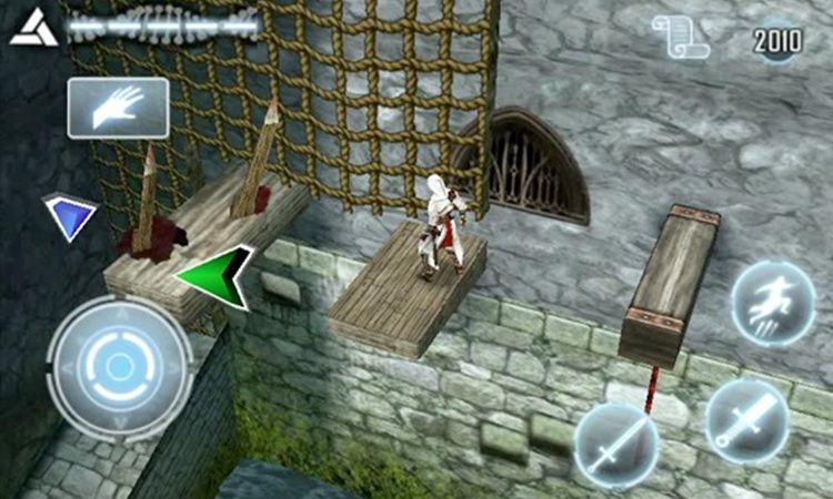 当时还是育碧子公司的Gameloft开发了《刺客信条:阿泰尔编年史》,手机版评分比掌机版