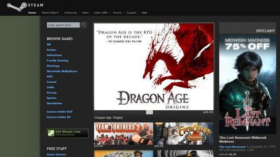"""从游戏下载器到""""理财平台"""" Steam的15年变迁史"""