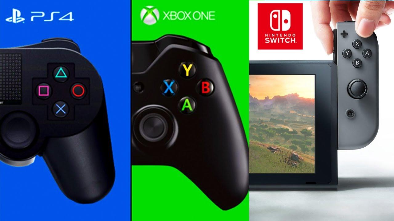 游戏机销量情况:Switch猛追PS4 掌机3DS独大