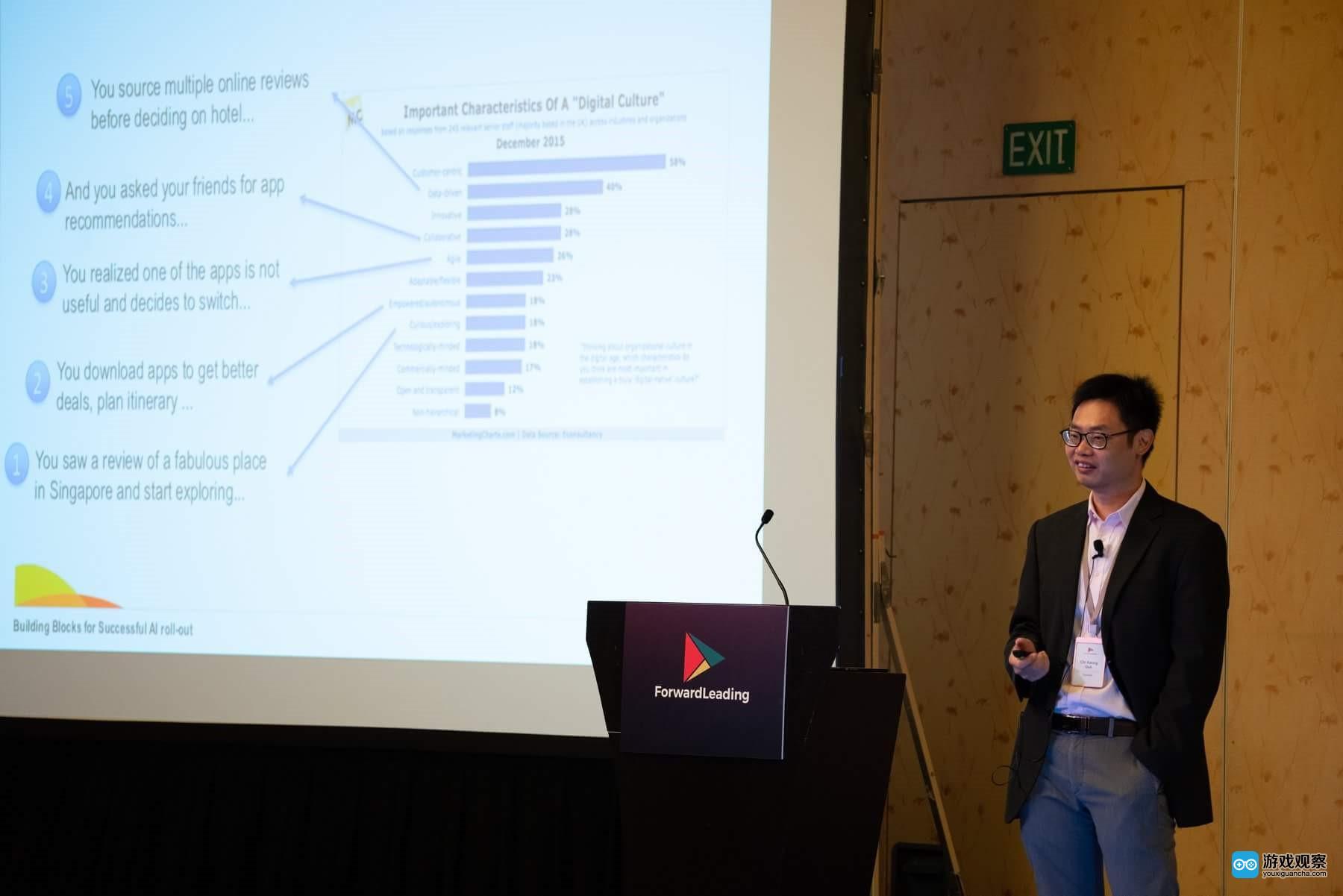 """游族參加新加坡人工智能峰會 詮釋賦能""""AI+游戲"""""""