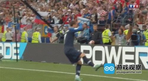 世界杯格里兹曼进球后尬舞庆祝