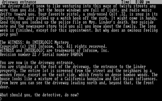 《目击者》游戏画面是这样的