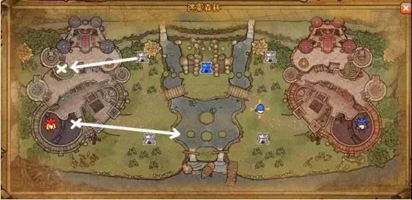 完整的地图