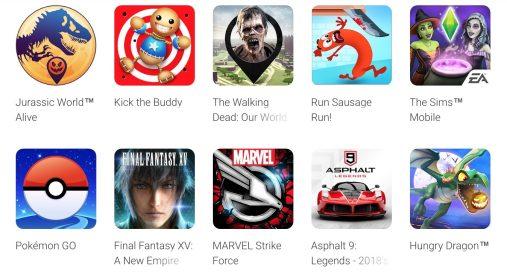 2018年度Google Play最佳榜单首次开放玩家票选