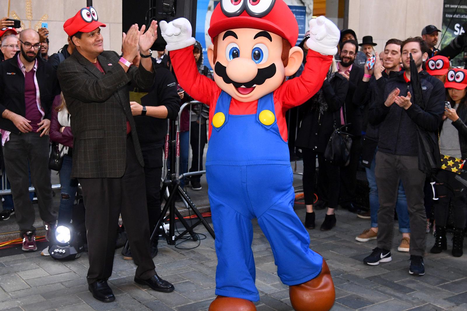 《超级马里奥》动画电影将于2022年上映 与宫本茂紧密合作