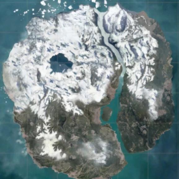 《绝地求生》新地图Dihor Otok