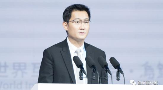 腾讯公司董事会主席兼首席执行官马化腾参加第四届世界互联网大会