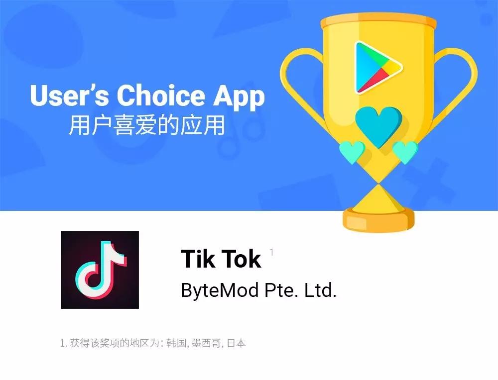 中国24款出海App获Google Play 2018年度大赏