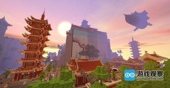 《迷你世界》越南玩家的中国风作品